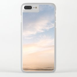 Waves at Sunset off the Oregon Coast Clear iPhone Case