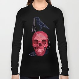 Music Skull Long Sleeve T-shirt