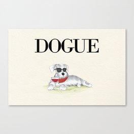 Dogue Canvas Print