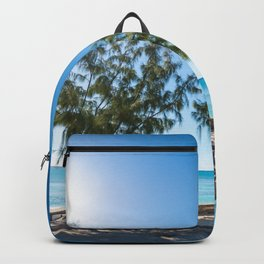 Turks and Caicos beach Backpack