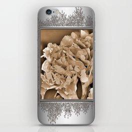 Peony named Shirley Temple iPhone Skin