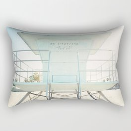 Beach Tower Rectangular Pillow