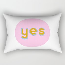 Yes 01 Rectangular Pillow