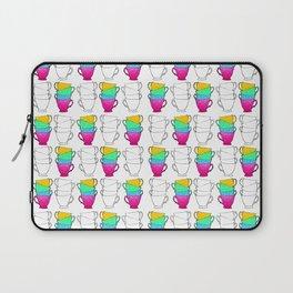 Tea Cup Pattern Laptop Sleeve