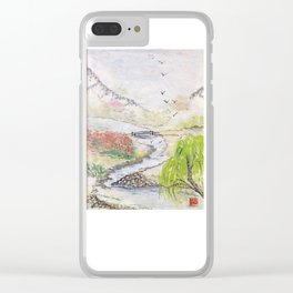 Bridge to Serenity Clear iPhone Case