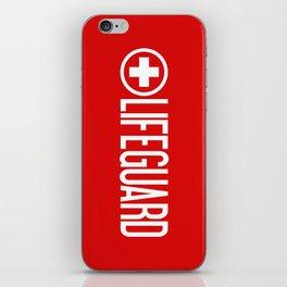 Lifeguard iPhone Skin