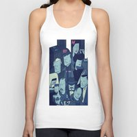 blade runner Tank Tops featuring Blade Runner by Ale Giorgini