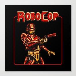 Robocop Red Vision Canvas Print