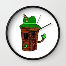 Ol' Mr. Growgrass The Shed Wall Clock