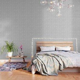 Mudcloth Big Arrows in Grey Wallpaper