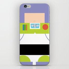 Buzz Lightyear Minimalist iPhone Skin