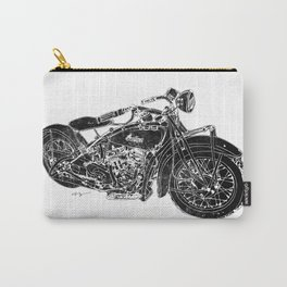 Vintage Indian Motorcycle Carry-All Pouch