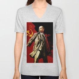 Lenin Unisex V-Neck