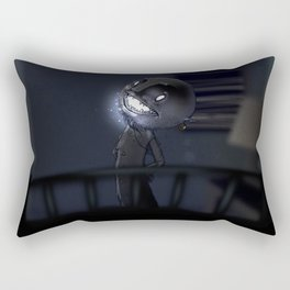 l'Uomo Nero Rectangular Pillow