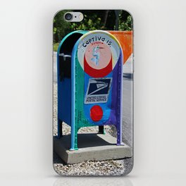 Captiva Island Mailbox- vertical iPhone Skin
