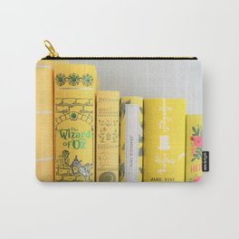 Shelfie in Yellow Carry-All Pouch
