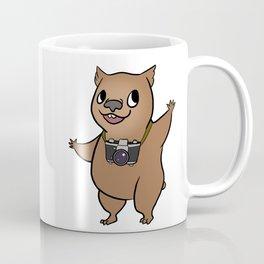 Wombat with 35mm SLR Coffee Mug