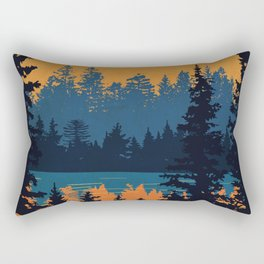Algonquin Park Poster Rectangular Pillow