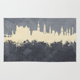 Heidelberg Germany Skyline Rug