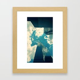 look up time to time Framed Art Print