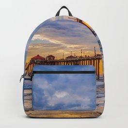 Unsettled Sunset Backpack