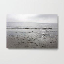 Broughty Ferry beach 3 Metal Print