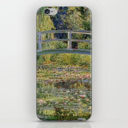 Water Lilies and Japanese Bridge Painting by Claude Monet iPhone Skin