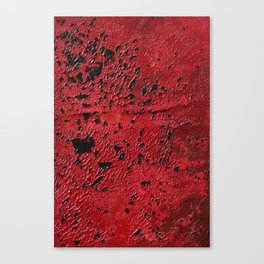 Burning out Canvas Print