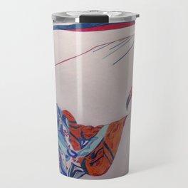 Erte Inspired Fashion Print Travel Mug