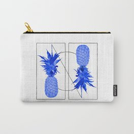 Blue Pineapples design Carry-All Pouch