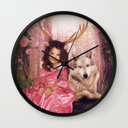 Princess of the Forest Wall Clock