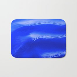 Ocean Decor, Home & Accessories, Waves, Blue, Art Prints, Wall Art Bath Mat