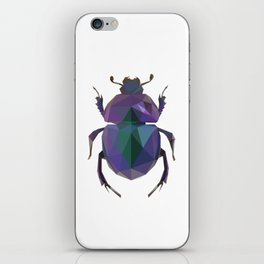Lowpoly Dung Beetle iPhone Skin