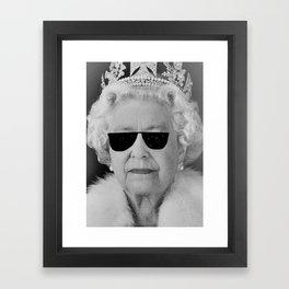 BE COOL - The Queen Framed Art Print