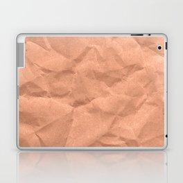 Kraft paper. crumpled paper Laptop & iPad Skin
