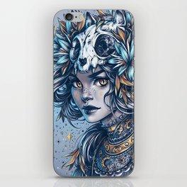Night Cat Witch iPhone Skin