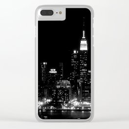 NEW YORKER Clear iPhone Case