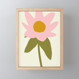 Flower For You Framed Mini Art Print