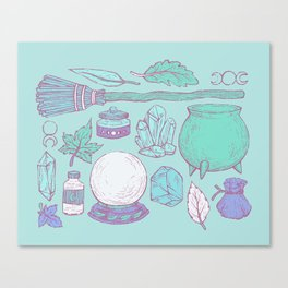 Witchcraft I Canvas Print
