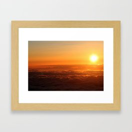 A View From Above Framed Art Print