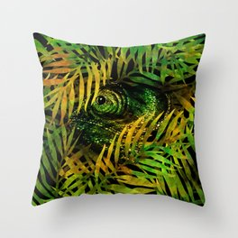 nobody's home /Agat/ Throw Pillow