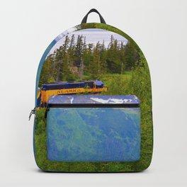 Alaska Passenger Train - Bird Point Backpack