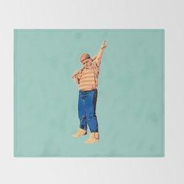 Baby Ruthy Throw Blanket