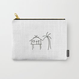 Little Island House Carry-All Pouch