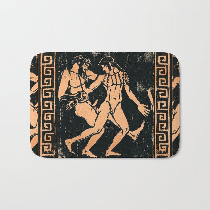 Greek Man & Boy Erotica Bath Mat