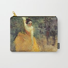 "Henri de Toulouse-Lautrec ""The Spanish Dancer"" Carry-All Pouch"