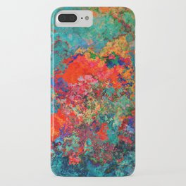 red poppies fantasy iPhone Case