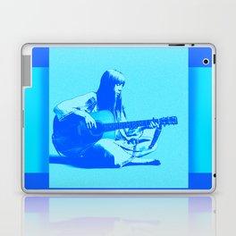 Blue Songbird Joni Mitchell Laptop & iPad Skin
