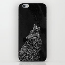 Midnight Wolf iPhone Skin