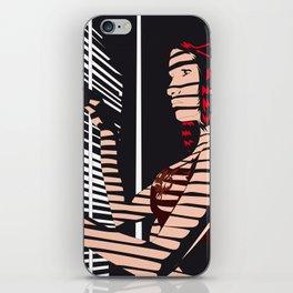 02 - SHADOW GIRL iPhone Skin